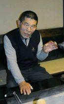 在りし日の後藤哲也さん=2004年撮影