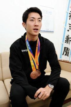 東京パラまで千日、リオ陸上「銅」の芦田創選手 走力向上狙う