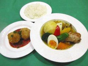 北海道のスープカレー(都提供)