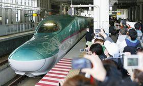 2016年に開業した北海道新幹線=新函館北斗駅