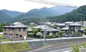 10年ぶりに土地が売れた星ケ丘団地の一角(三原村宮ノ川)