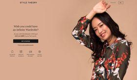 シンガポール初のサブスクリプション婦人服レンタルサービス「スタイル・セオリー」のウェブサイト