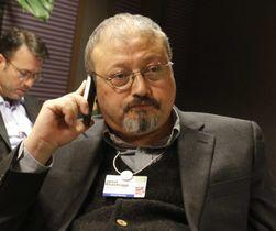 ジャマル・カショギ氏=2011年1月、スイス・ダボス(AP=共同)