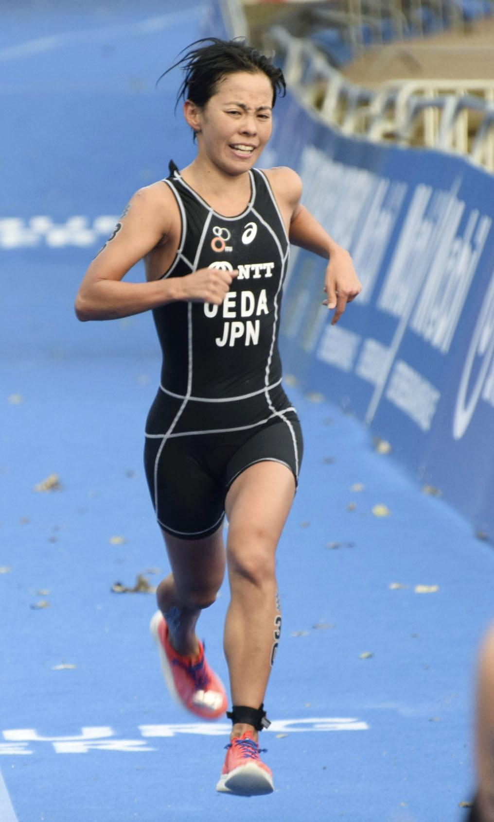 トライアスロン、上田藍は27位 ドイツで世界選手権
