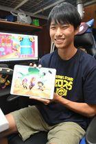 投稿サイトでゲーム動画を配信する吉田優樹さん