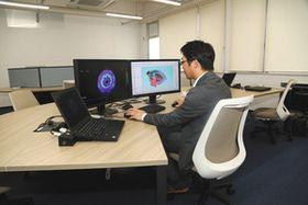 大同大が開設したモータ研究センター=名古屋市南区の同大で
