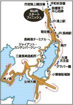 長崎平和マラソンのコース案
