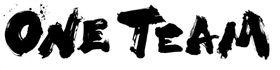 日本ラグビー協会が商標登録出願した「ONE TEAM(ワンチーム)」のロゴ(日本ラグビー協会提供)