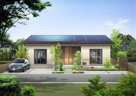 新型住宅「防災パワーマックス」(平屋建てタイプ)のイメージ