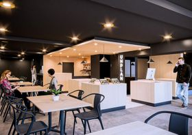 12月に開業するホステルの内部のイメージ
