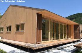 入居者を募集している移住体験施設=海陽町神野