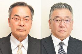 森藤文典氏(左)と和田潤司氏