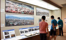 大船渡市立博物館で開催中の協働展示「気仙と津波~大船渡・陸前高田~」