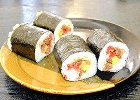 新商品の「八重たん鉄砲寿司」