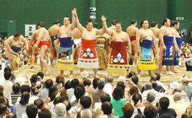 【参考写真】2008年に開催された大相撲安芸場所