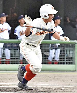 学法福島、ふたば未来に4-0勝利 初回から勢い!梅田復調打