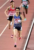 昨年の日本選手権女子5000メートルで初優勝し、東京五輪代表の座を手にした田中希実=ヤンマースタジアム長居