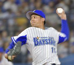 横浜DeNAの東投手