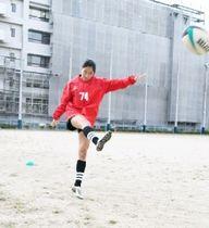 ラグビー7人制女子で東京五輪を目指す福岡高の永田