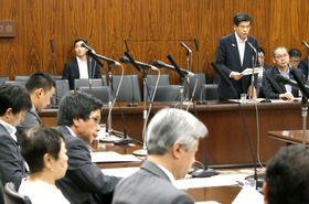 IR整備法案を審議する参院内閣委=19日午前