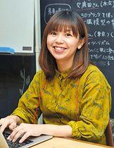 「コミュニティーナースの育成に一層努めたい」と意欲を示す矢田明子さん=雲南市木次町木次、三日市ラボ