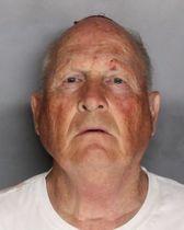 殺人容疑で逮捕されたジョセフ・ディエンジェロ容疑者(サクラメント郡保安官事務所提供、ゲッティ=共同)