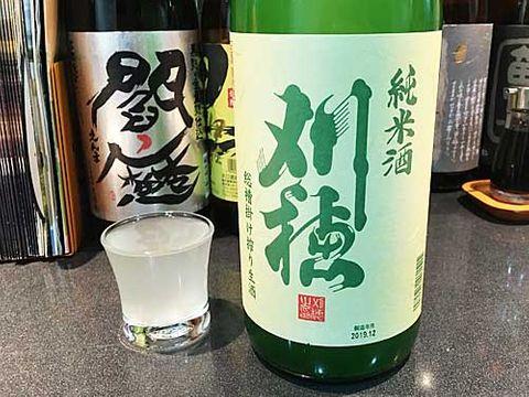 【4156】刈穂 純米 あらばしり 総槽掛け搾り生酒(かりほ)【秋田県】