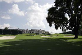 2022年の全米プロゴルフが開催されるオクラホマ州タルサのサザンヒルズCC(AP=共同)