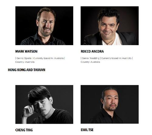 PRイベントに参加した写真家ら=ニコン・シンガポールのサイトから