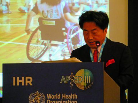 【岡山県総社市】アジア太平洋感染症及び災害対策戦略会議