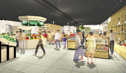ローカルとグローバルを結ぶ食文化の拠点、山形県の鶴岡駅前に