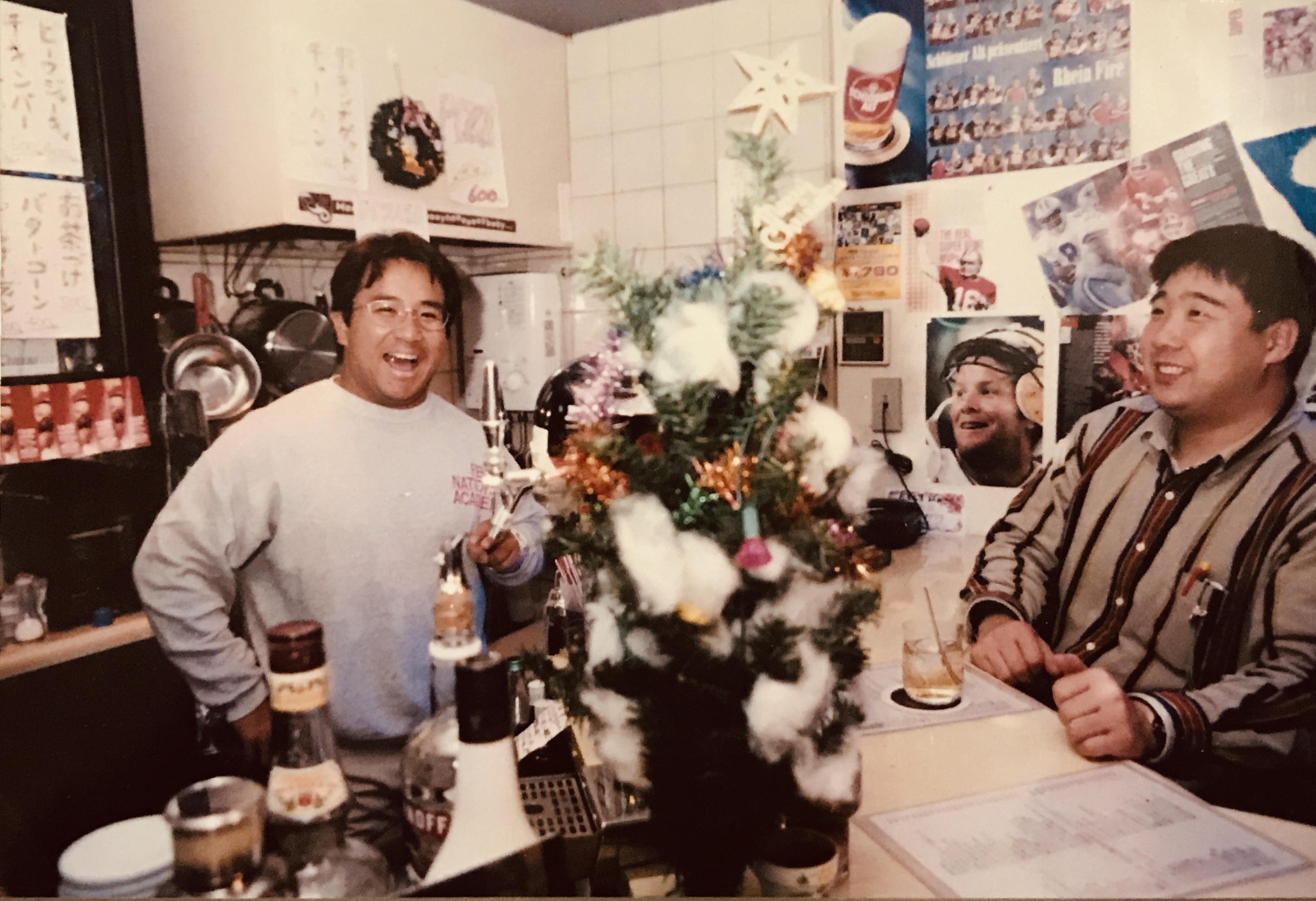 多聞さんが大阪で経営していた「タモンズバー」