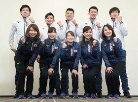 五輪への決意を語ったカーリングの男女代表