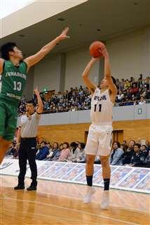 能代工3年ぶり勝利 能代カップ高校選抜バスケ開幕