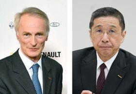 ルノーのジャンドミニク・スナール新会長、日産自動車の西川広人社長