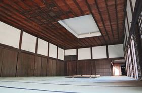 徳川慶喜らがたしなんだ茶の湯の再現実演などが行われる二条城の御清所(京都市中京区)