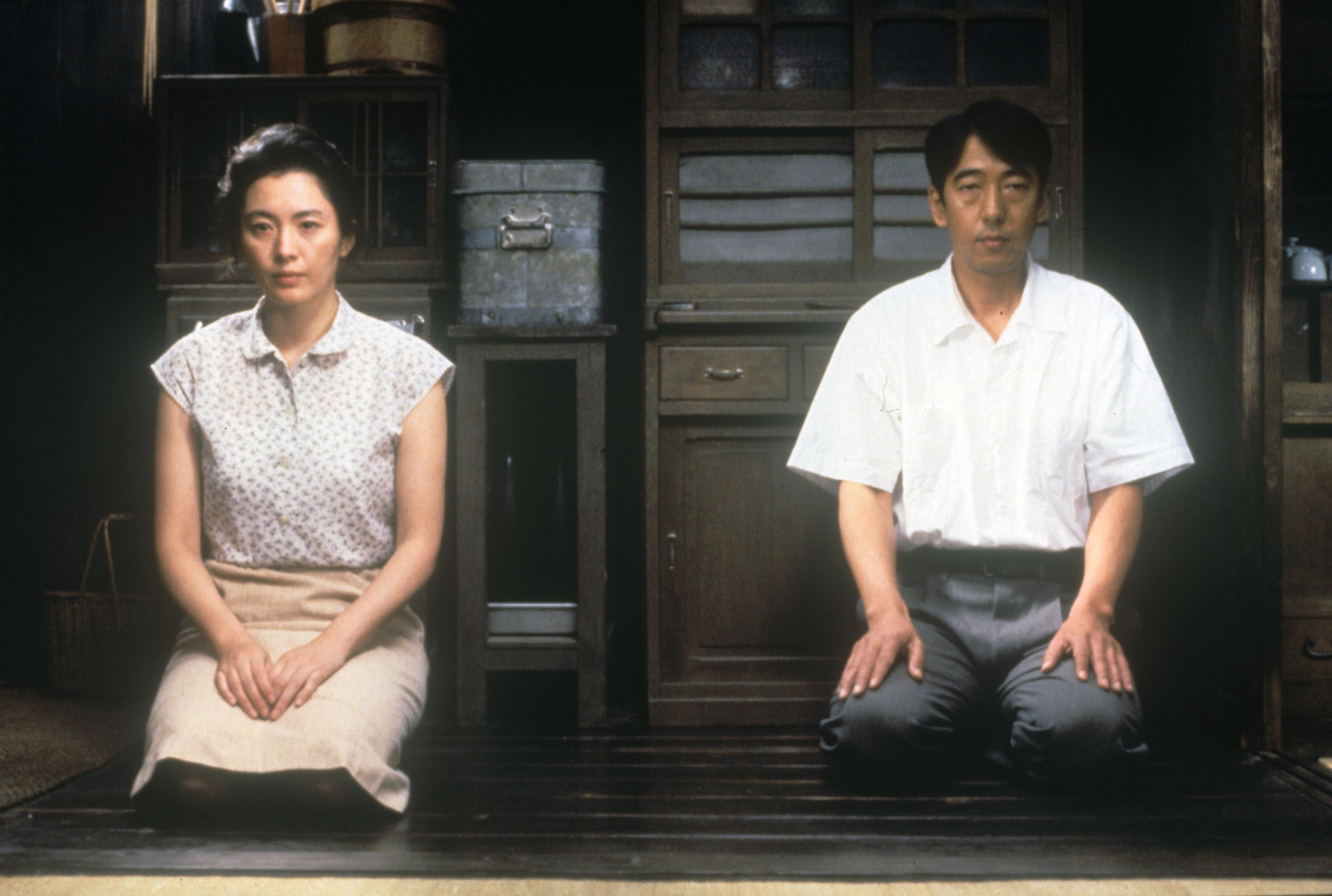 映画「死の棘」の一場面(ⓒ松竹、DVD―Book「死の棘」駒草出版)