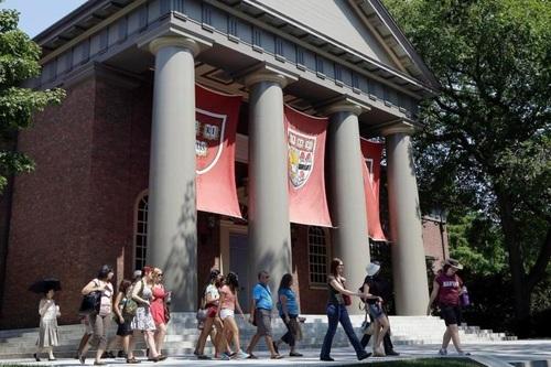 「アイビーリーグ」に所属する米カレッジの名門、ハーバード大(AP=共同)