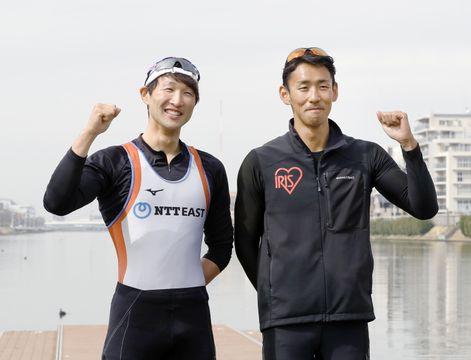 ボート、西村と古田が五輪予選へ