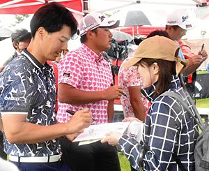 石川遼が意欲「来年も出場したい」 ダンロップ・福島オープン