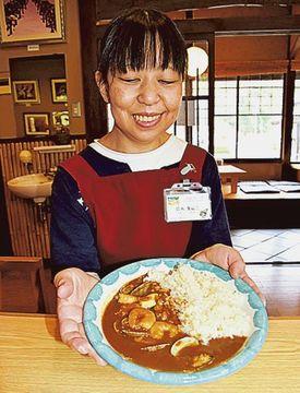 シーフードカレー復活 松崎の元飲食店人気の味、「天城山房」で