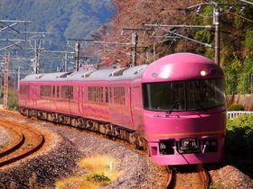 「鉄旅オブザイヤー」のグランプリを受賞したツアーに使われたJR東日本のお座敷列車「宴(うたげ)」=2012年11月3日、群馬県安中市(筆者撮影)