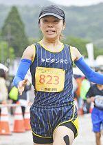 【高校生女子・一般女子5キロ】初優勝した菅野祥子(キビタンRC)