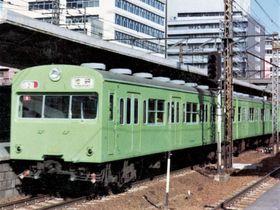 黄緑一色の山手線。まさに「ザ・通勤電車」の貫禄十分だった