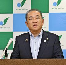 ヘイトスピーチを規制する条例に罰則規定導入を検討する意向を表明した相模原市の本村賢太郎市長
