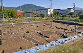 方形周溝墓3基新たに 支配者の縁者か 纏向遺跡