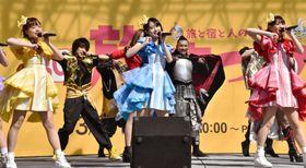 PRソング「でら凄っ!名古屋」のお披露目イベント=17日午前、名古屋市