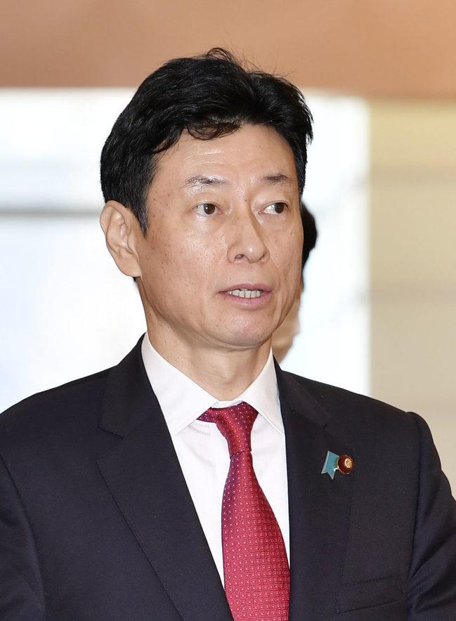 西村康稔経済再生担当相