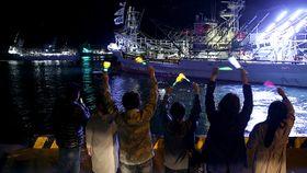 道東サンマ大型船出漁