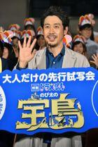 イベントに登場した大泉洋=19日、東京都内